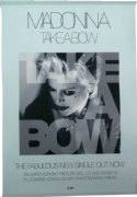 TAKE A BOW - OFFICIAL UK 1994 IN-STORE PROMO POSTER